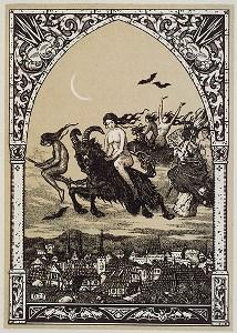 Секреты леветации - полеты ведьм